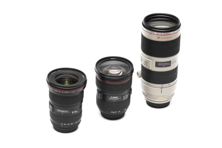 Canon EF Objektiv Set
