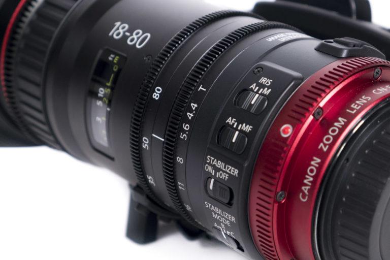Canon CN-E18-80mm T4,4 L IS KAS S mieten