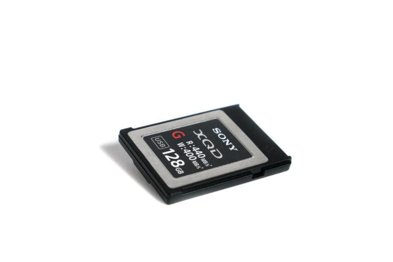 Sony XQD Speicherkarte 128GB QD-G128E mieten