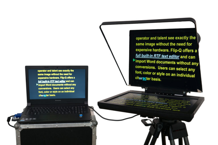 "Prompter People Cinema & ENG 17"" Teleprompter Laptop mieten"