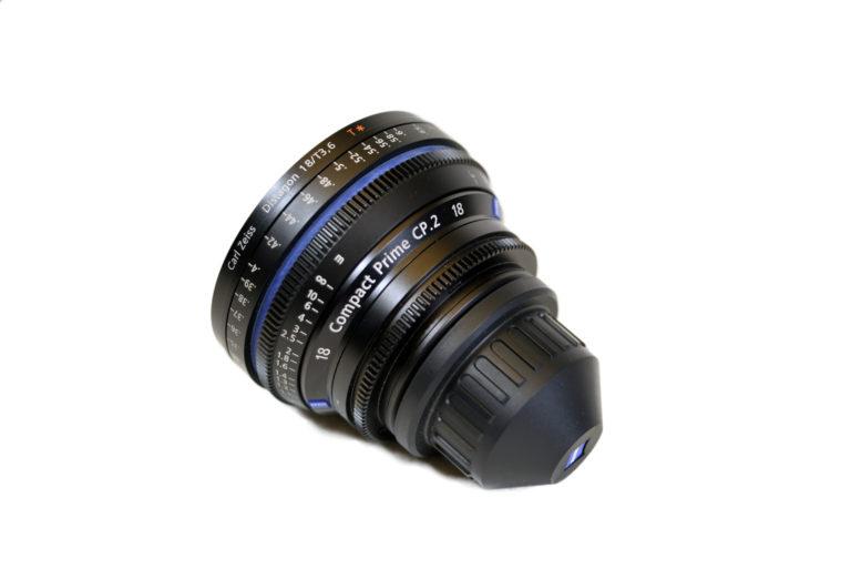 Zeiss 18 mm t3.6 CP. 2 Compact Prime Cine Objektiv mieten