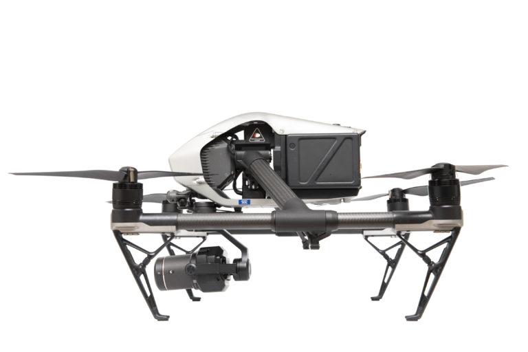 DJI Inspire 2 Drohne mit Zenmuse X7 Kamera mieten bei Kameraverleih pictocam in Köln