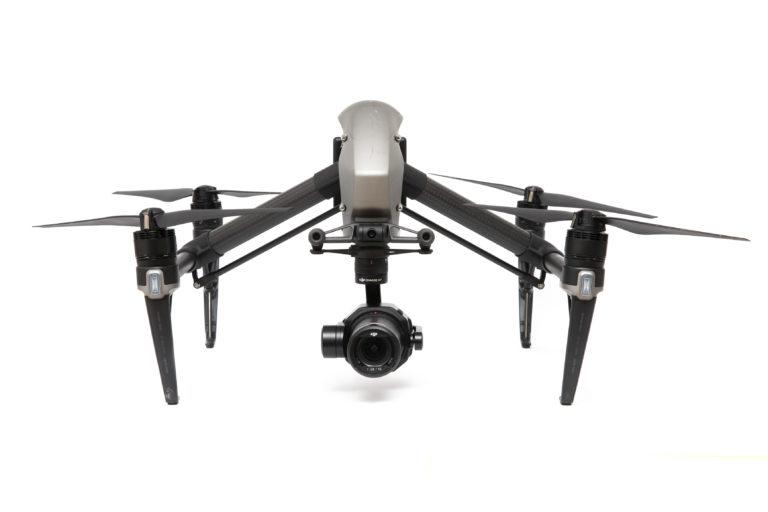 DJI Inspire 2 Drohne mit Zenmuse X7 Kamera mieten